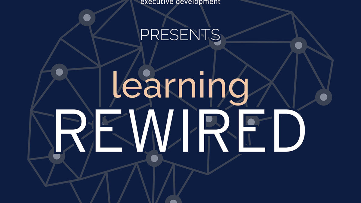 Alan Brown on Learning Rewired podcast