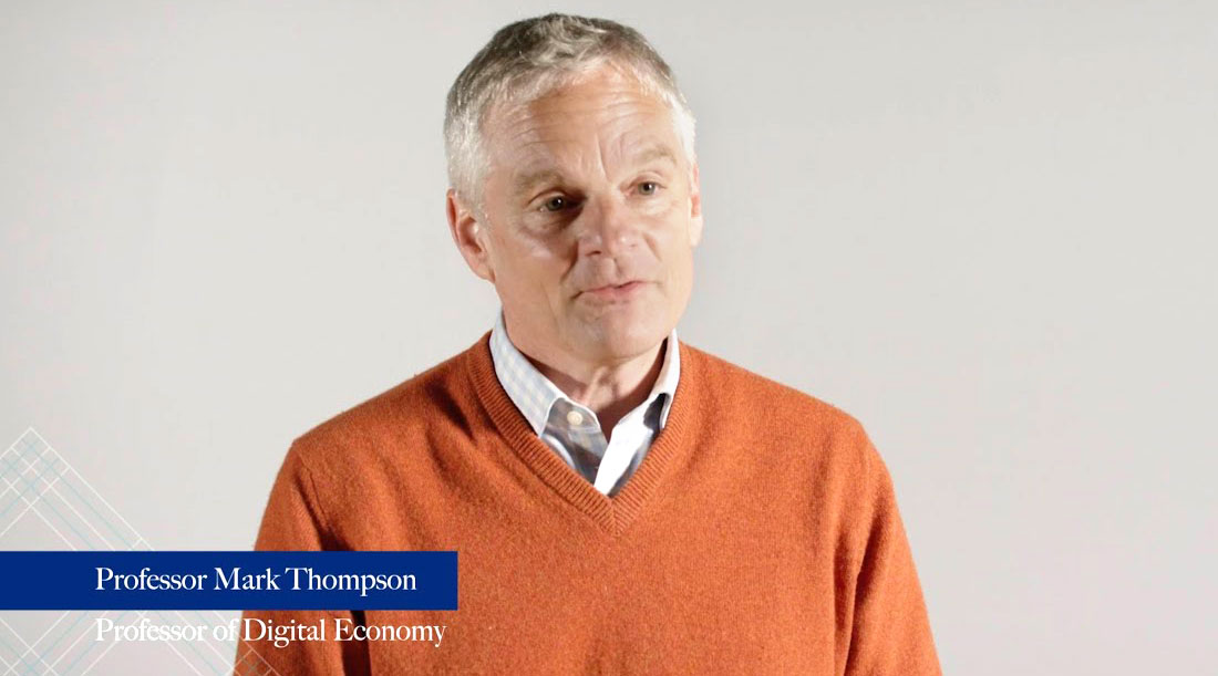 Delivering impact: Mark Thompson on blending research, policy, and practice