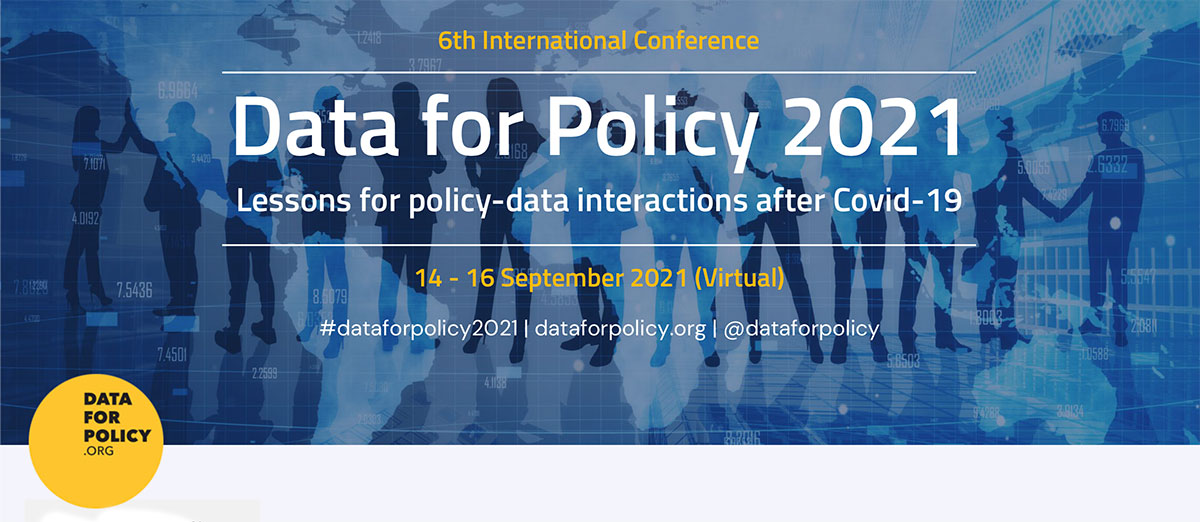 Data for Policy 2021 conference